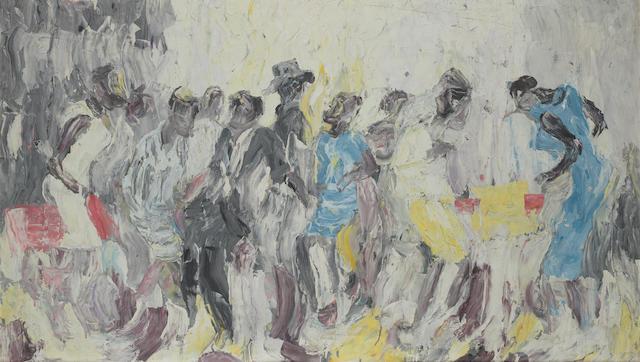 Kingsley Sambo (Zimbabwean, circa 1933-1979) Dancers