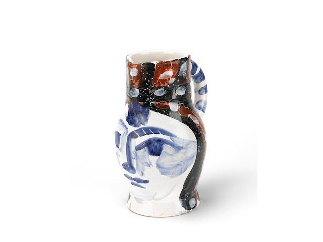 Pablo Picasso, Tête peinte - AR 212