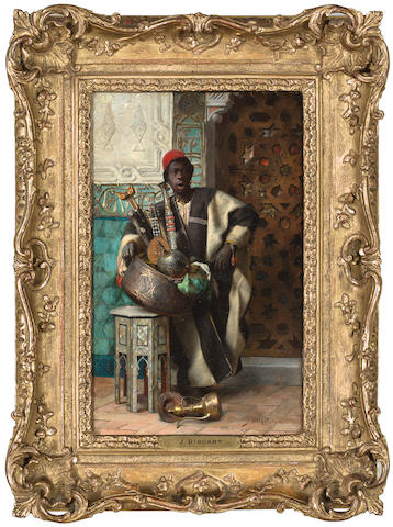 (n/a) Jean Discart (French, 1856-1944) The Moorish merchant