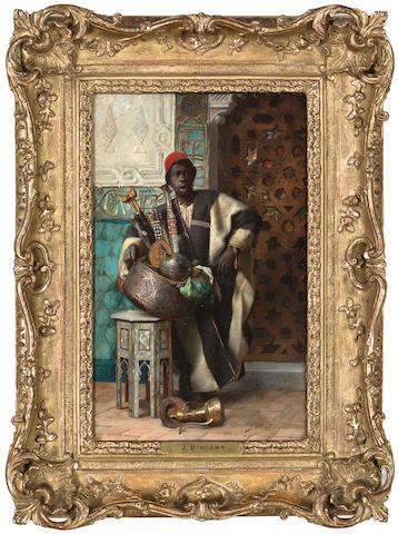Jean Discart (French, born 1856) The Moorish merchant