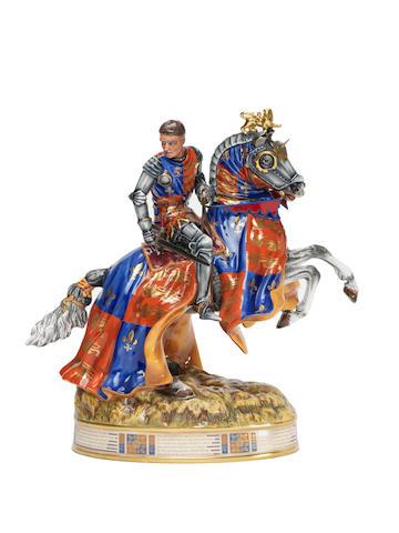 Doulton Burslem 'Henry V at Agincourt' HN3947 A Prestige Figure, 1998