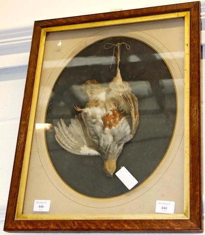 A Victorian tromp l'oeil print