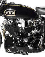 1949 Vincent 998cc Black Shadow Series C Frame no. RC4169B Engine no. F10AB/1B/2269