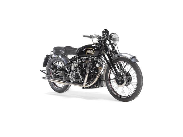 1949 Vincent 998cc Black Shadow Series C Frame no. RC4169B Engine no. F10AB/1B/2269