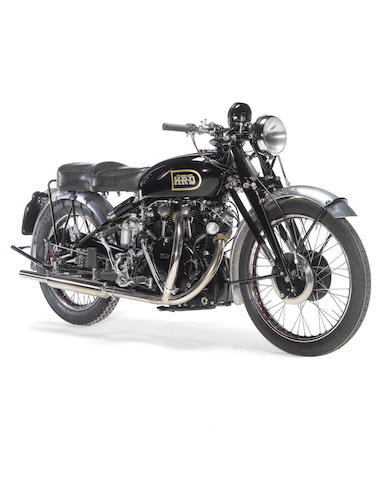 Bonhams : 1949 Vincent 998cc Black Shadow Series C Frame no. RC4169B ...