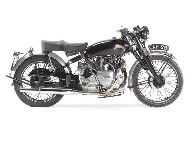 1951 Vincent-HRD 998cc Rapide Series C Frame no. RC7682 Engine no. F10AB/1/5782