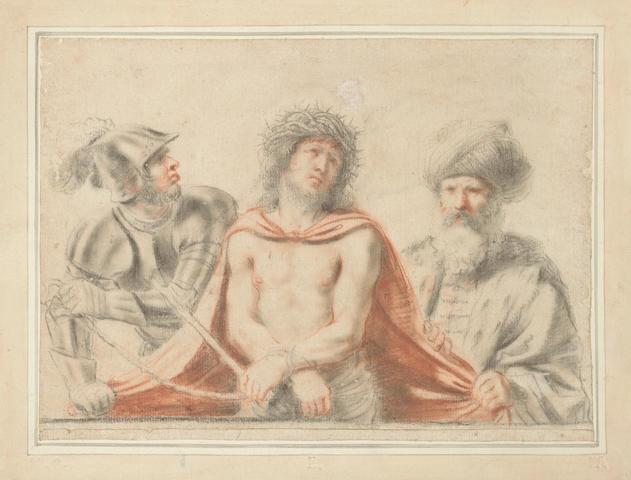 Giovanni Francesco Barbieri, called il Guercino (Cento 1591-1666 Bologna) Ecce Homo unframed
