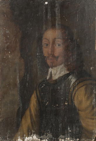 English School, c1650, Portrait of an officer