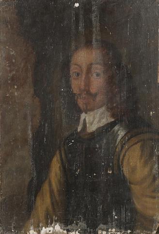 English School, c1650, Portrait of an officer