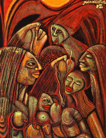 Malangatana Valente Ngwenya (Mozambican, 1936-2011) Female forms