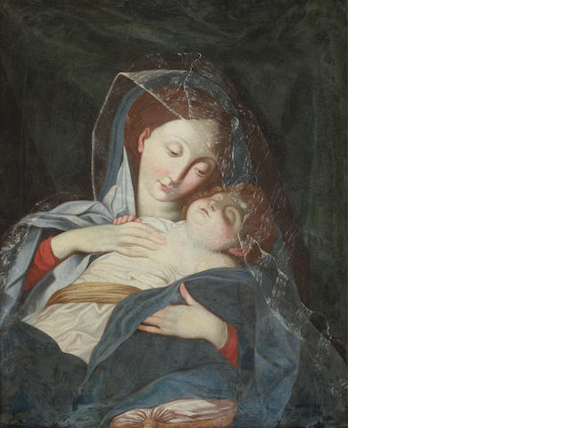 After Giovanni Battista Salvi, called il Sassoferrato, circa 1800 The Madonna and Child
