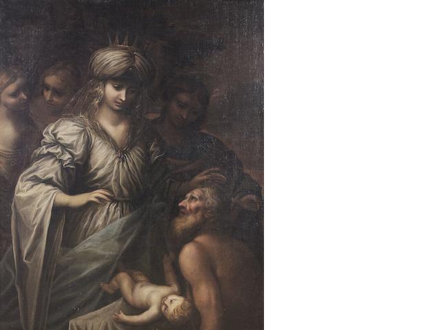 Giovanni Stefano Danedi, called Montalto (Treviglio 1608-1689) The Finding of Moses