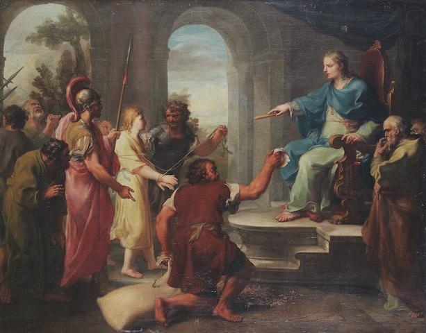 Mariano Rossi (Sciacca 1731-1807 Rome) The Finding of Joseph's cup