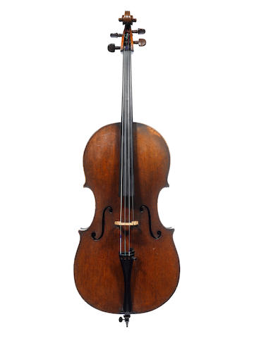 An Italian Cello  possibly Milanese circa 1730 (2)