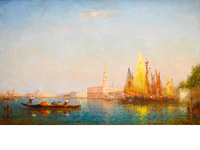 Charles Clément Calderon (French, 1870-1906) Venice
