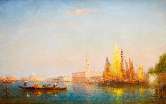 Charles Clément Calderon (French, 1870-1906) Venice