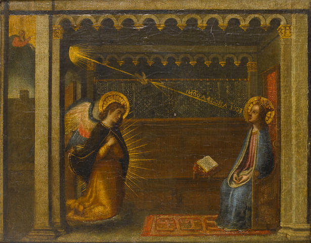 Florentine School, 17th Century The Annunciation