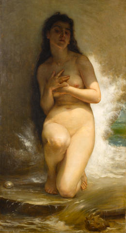Studio of William Adolphe Bouguereau (French, 1825-1905) La Perle