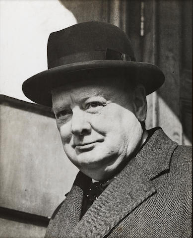 CHURCHILL, Sir WINSTON (1874-1965, statesman, Prime Minister, war leader, and author)