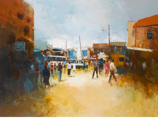 Ismael Kateregga (Ugandan, born 1980) 'Peak Hours I'