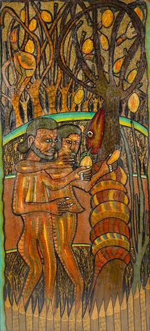 Prince Twins Seven-Seven (Nigerian, born 1944) Paradise