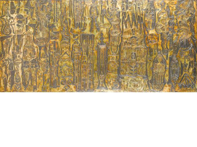 Bruce Onobrakpeya (Nigerian, born 1932) Onobrak vignettes