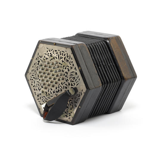 A Large Sized Concertina by Wheatstone, London, circa 1900 (1)