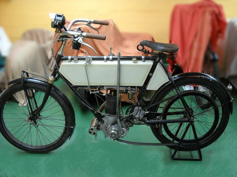 c.1908 Werner 230cc  Frame no. 1911 Engine no. 1C10CN-201270
