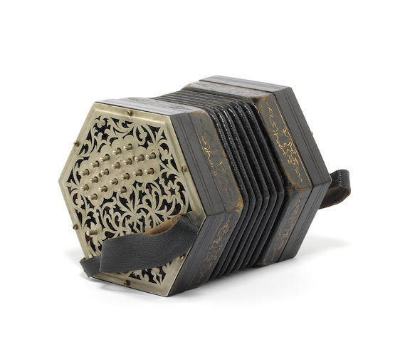 A Duet System Concertina by Charles Jeffries (2)
