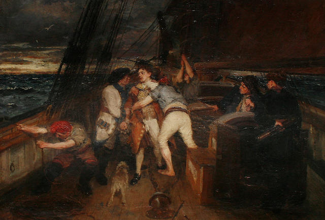 George Ogilvy Reid, RSA (British, 1851-1928) The Mutiny