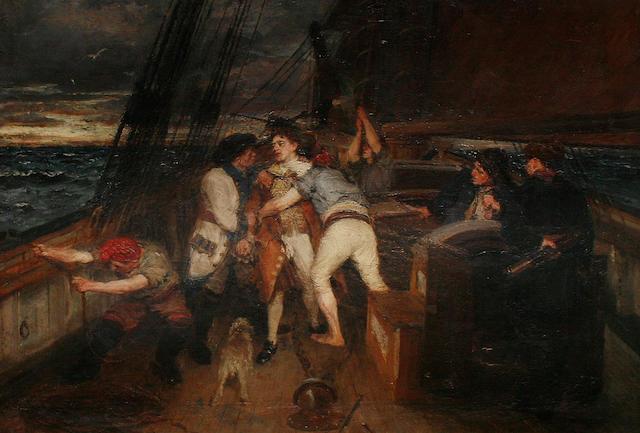 George Ogilvy Reid, RSA (British, 1851-1928) The Mutiny