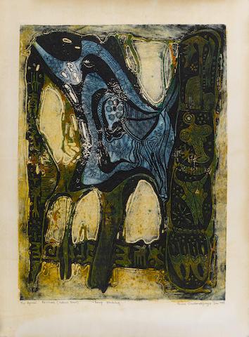 Bruce Onobrakpeya (Nigerian, born 1932)