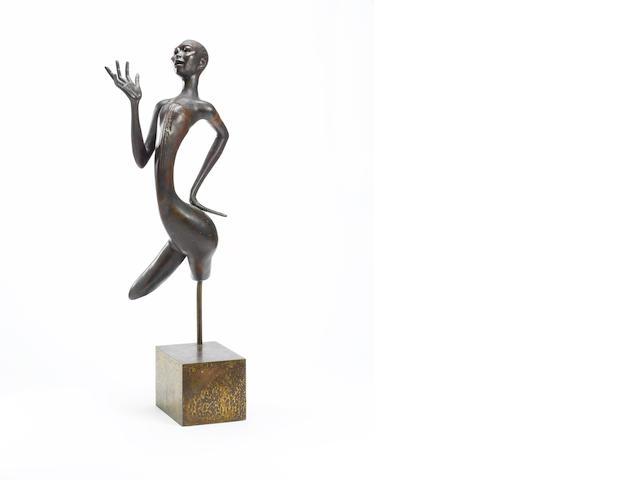 Ben (Benedict Chukwukadibia) Enwonwu, M.B.E (Nigerian, 1917-1994) African Dances