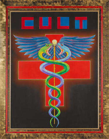 Cult- original airbrushed artwork.