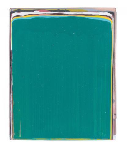 Ciaran Lennon (Irish, 1947) Lens Askew 32 x 26 cm. (12 1/2 x 10 1/4 in.)