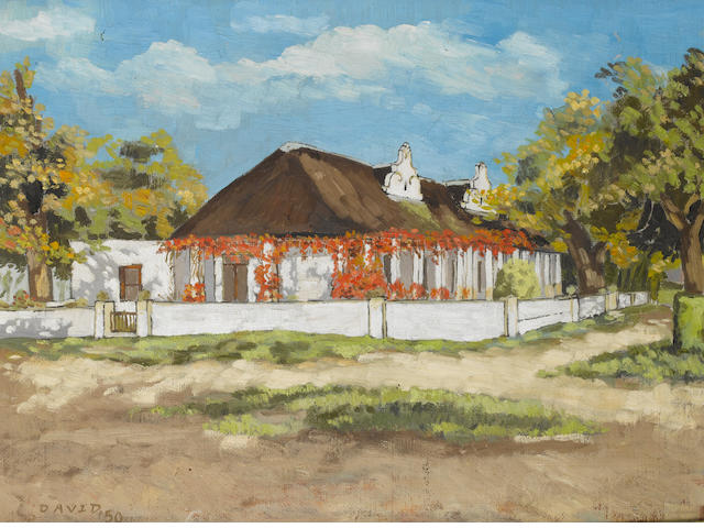 David Botha (South African, born 1921) Le Rhone, Tulbagh