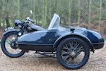 1929 Rudge 499cc 'Special' with Monza sidecar Frame no. 27864 Engine no. 50271