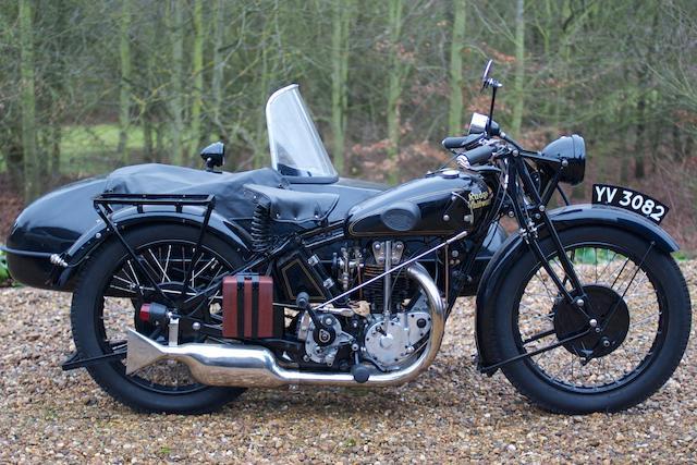 1929 Rudge Special Combination,