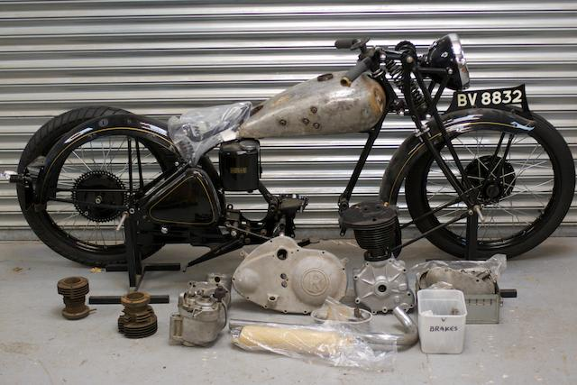 1937 Rudge 250 Frame no. 62538 Engine no. A1434