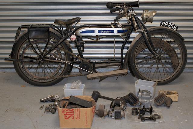 1916/1923 Douglas 347cc 2¾hp Frame no. TBA Engine no. 25782