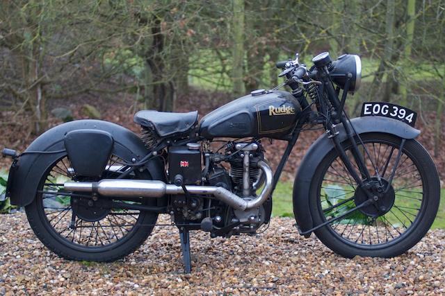1938 Rudge 250cc (EOG 394),
