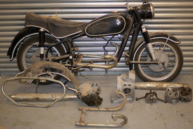 c.1968 BMW 594cc R69S Project Frame no. 855310