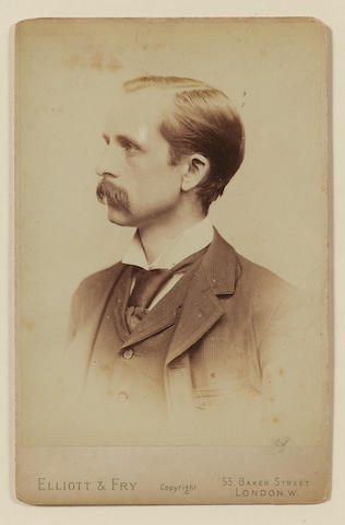 BARRIE, Sir JAMES MATTHEW (1860-1937, playwright and novelist, O.M.)