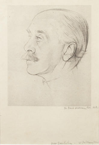 BEERBOHM, Sir MAX (1872-1956, caricaturist, author, broadcaster and wit)