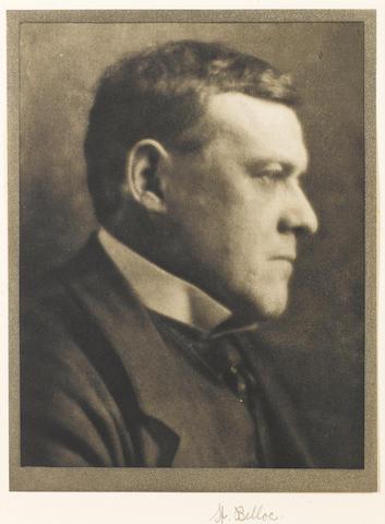 BELLOC, HILAIRE (1870-1953, poet and historian)