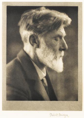 BRIDGES, ROBERT (1844-1930, poet)