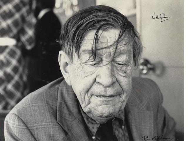 AUDEN, WYSTAN HUGH (1907-1973, poet)