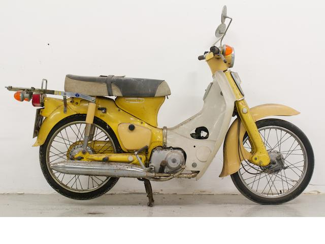 Honda C70 Step-thru Moped,