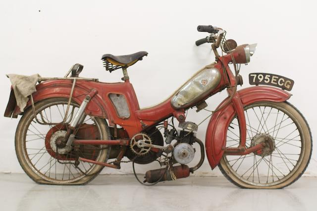 c.1959 Motobécane AV87 Moped (see text)