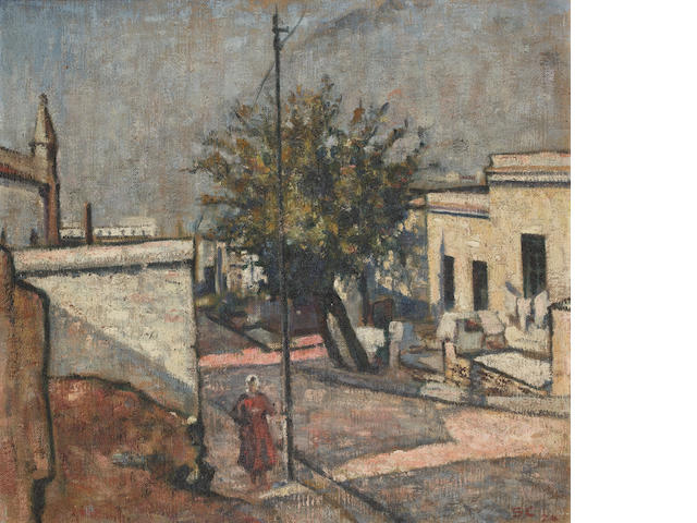Harry Stratford Caldecott (South African, 1886-1929) The Malay Quarter, Cape Town